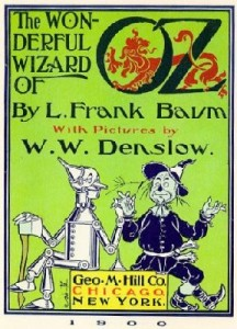 The Wonderful Wizard of Oz title page
